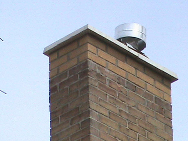 Chimney with Cap Repair