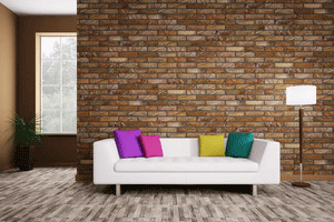 Re Exposed Interior Brick Wall