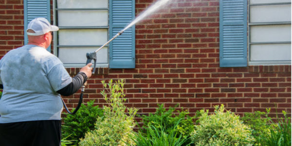 Can You Power Wash Brick in Toronto?